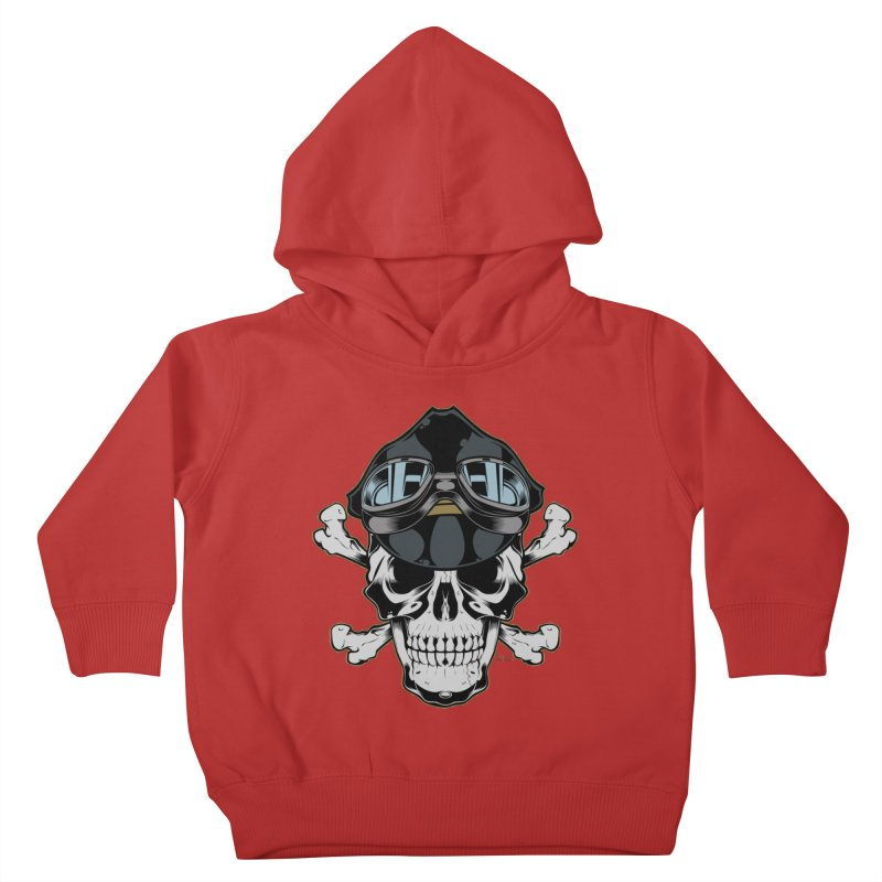 the Rebel Kids Toddler Pullover Hoody by EngineHouse13's Artist Shop