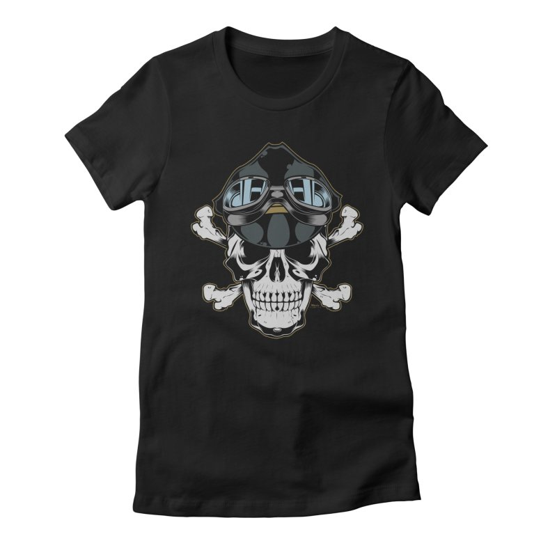the Rebel Women's Fitted T-Shirt by EngineHouse13's Artist Shop