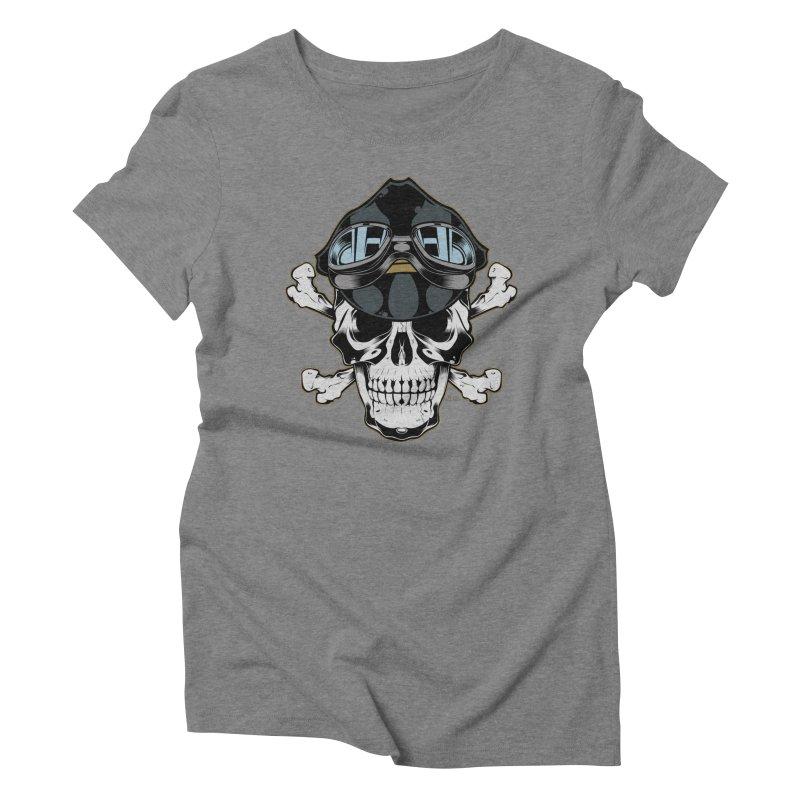 the Rebel Women's Triblend T-shirt by EngineHouse13's Artist Shop