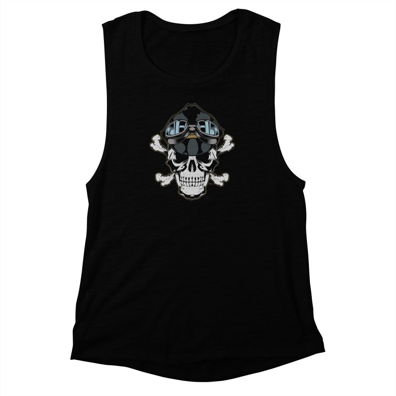 the Rebel Women's Muscle Tank by EngineHouse13's Artist Shop