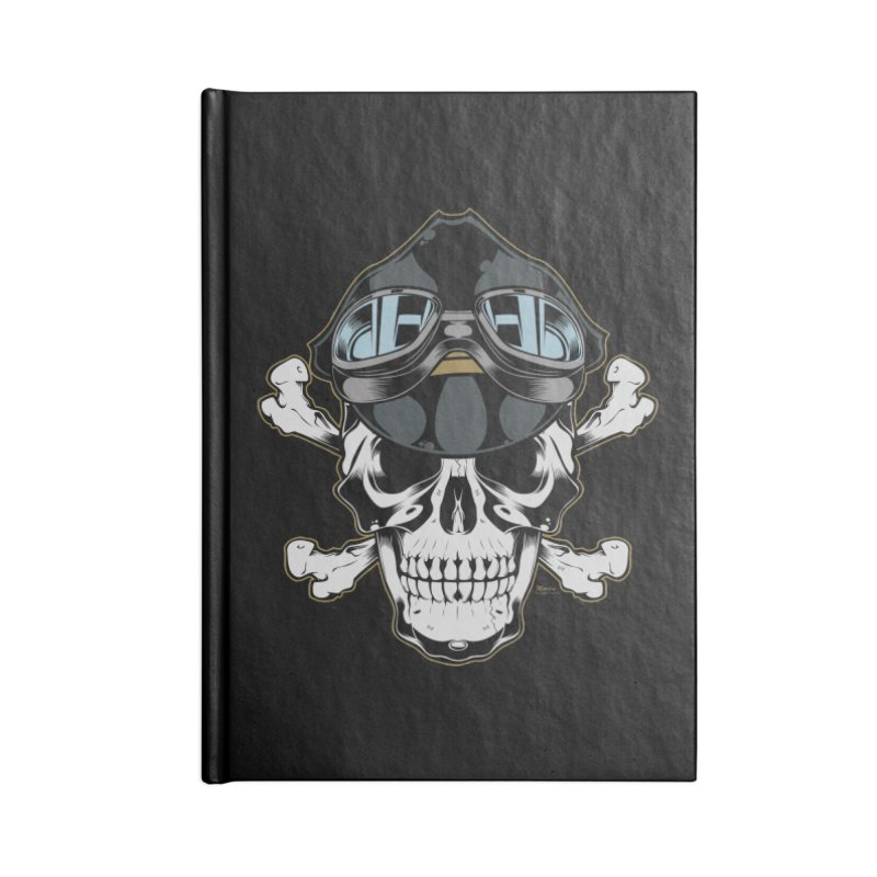the Rebel Accessories Blank Journal Notebook by EngineHouse13's Artist Shop