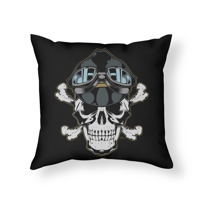 the Rebel Home Throw Pillow by EngineHouse13's Artist Shop