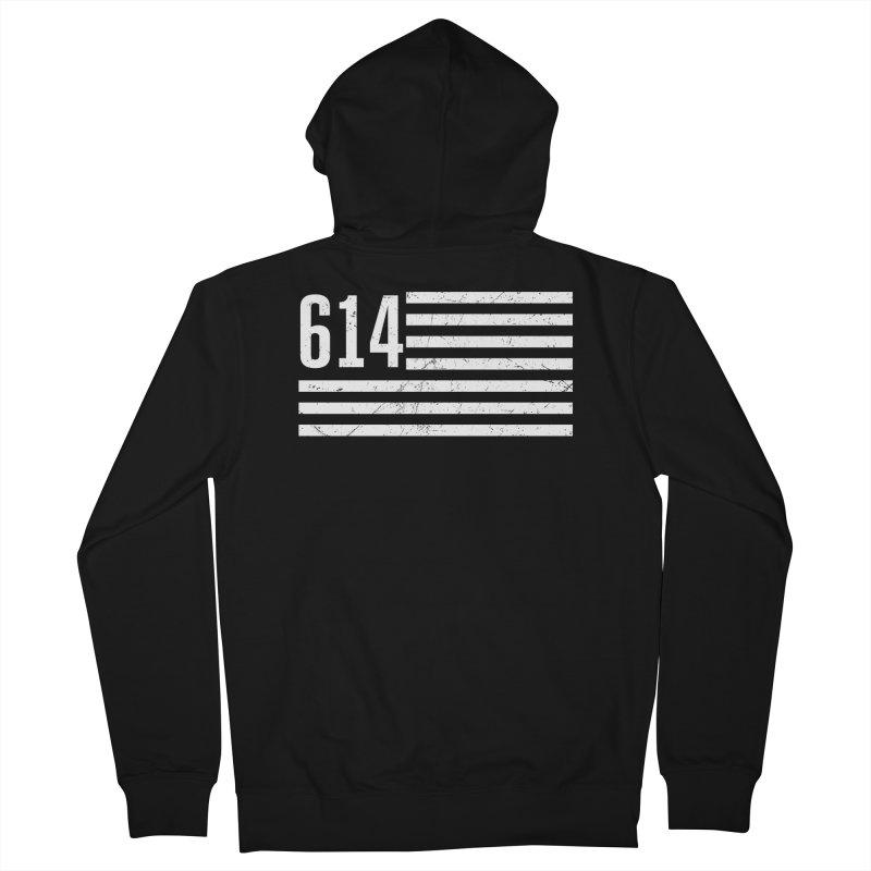 614 Flag Men's Zip-Up Hoody by EngineHouse13's Artist Shop
