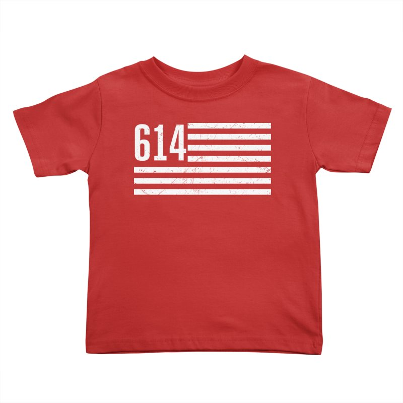 614 Flag Kids Toddler T-Shirt by EngineHouse13's Artist Shop