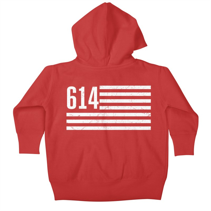 614 Flag Kids Baby Zip-Up Hoody by EngineHouse13's Artist Shop