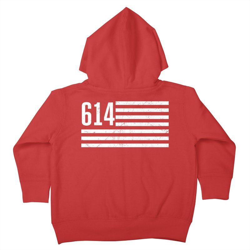 614 Flag Kids Toddler Zip-Up Hoody by EngineHouse13's Artist Shop