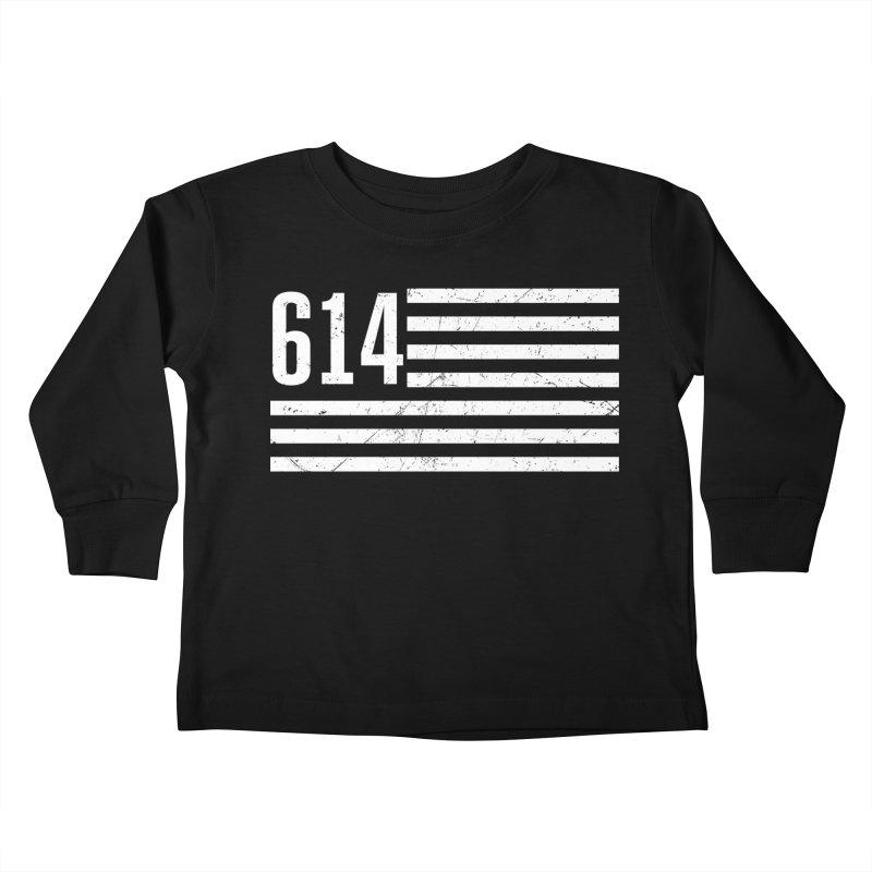 614 Flag Kids Toddler Longsleeve T-Shirt by EngineHouse13's Artist Shop