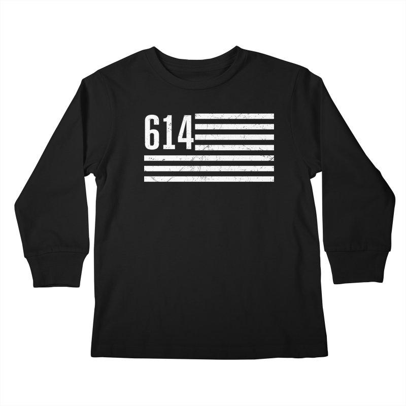 614 Flag Kids Longsleeve T-Shirt by EngineHouse13's Artist Shop