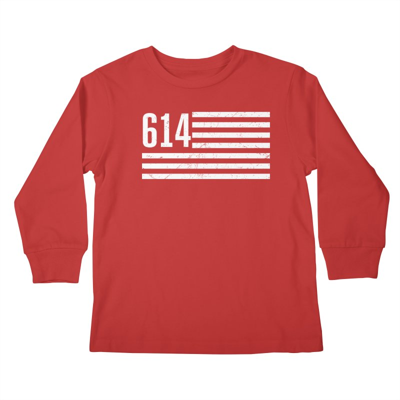 614 Flag Kids Longsleeve T-Shirt by EngineHouse13's Artist Shop