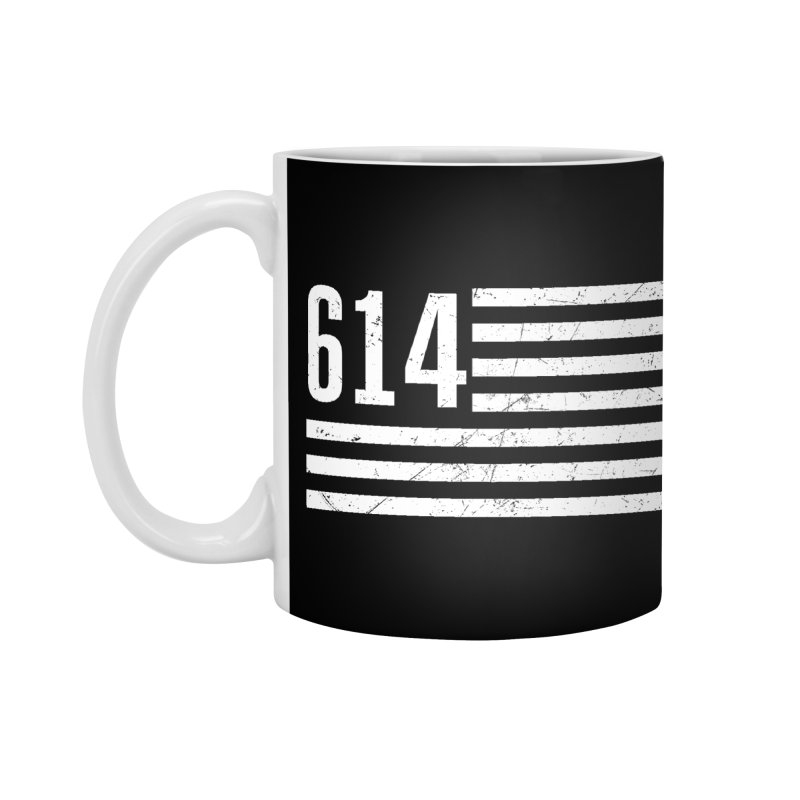 614 Flag Accessories Mug by EngineHouse13's Artist Shop