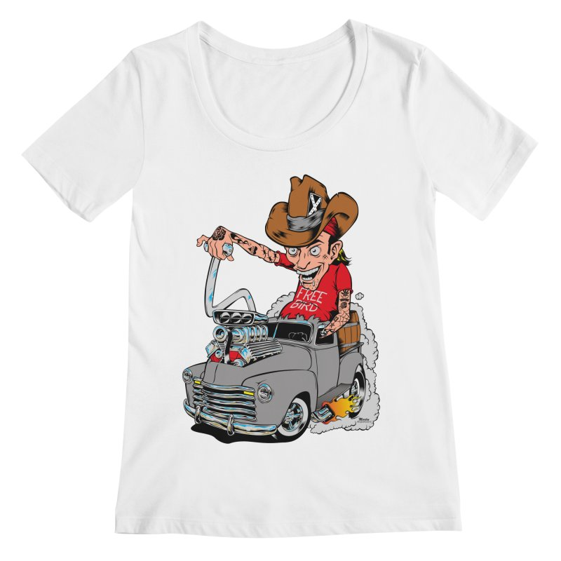 Blown 52 Chevy Women's Regular Scoop Neck by EngineHouse13's Artist Shop