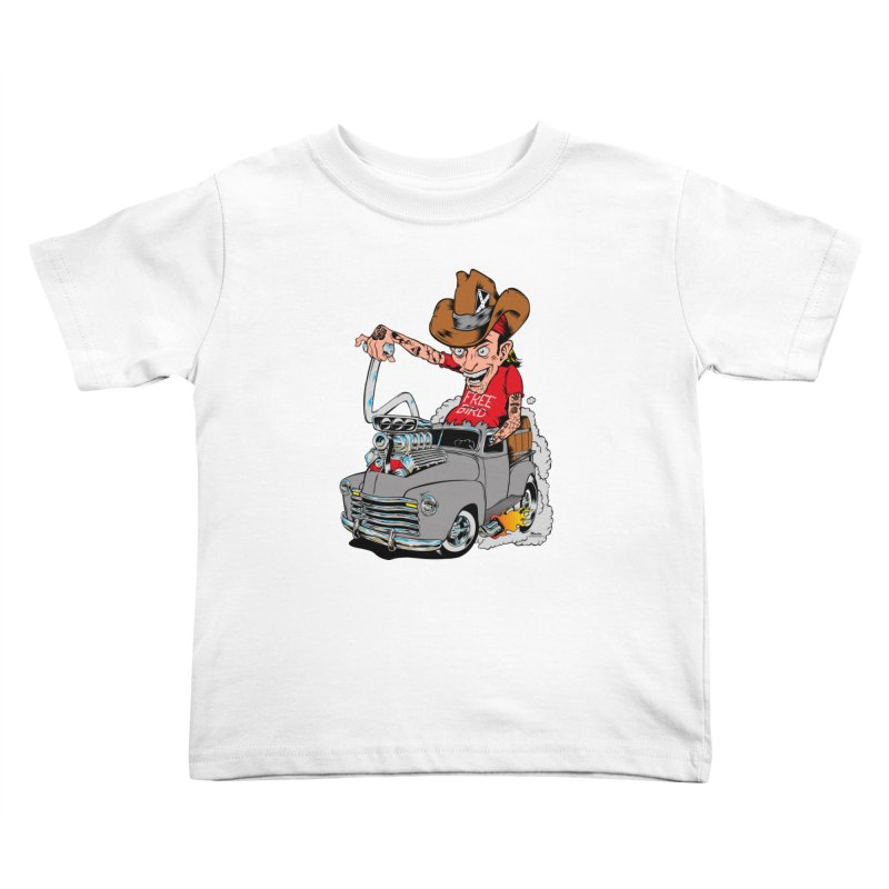 Blown 52 Chevy Kids Toddler T-Shirt by EngineHouse13's Artist Shop