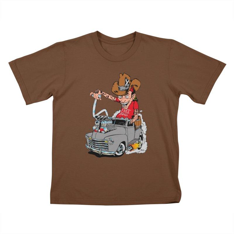 Blown 52 Chevy Kids T-Shirt by EngineHouse13's Artist Shop