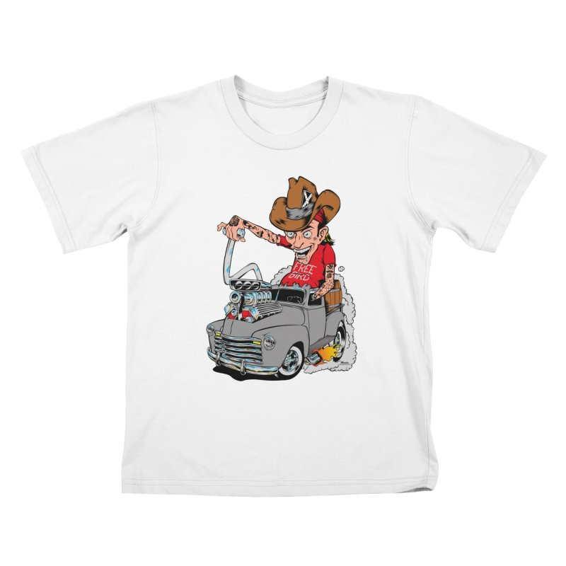 Blown 52 Chevy Kids T-Shirt by EngineHouse13's Artist Shop