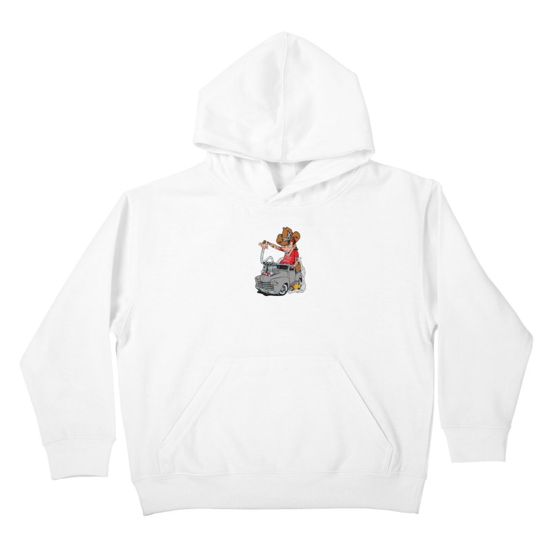 Blown 52 Chevy Kids Pullover Hoody by EngineHouse13's Artist Shop