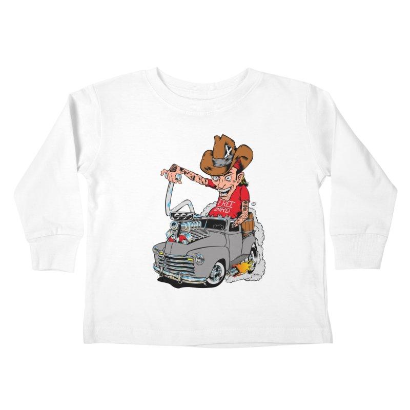 Blown 52 Chevy Kids Toddler Longsleeve T-Shirt by EngineHouse13's Artist Shop