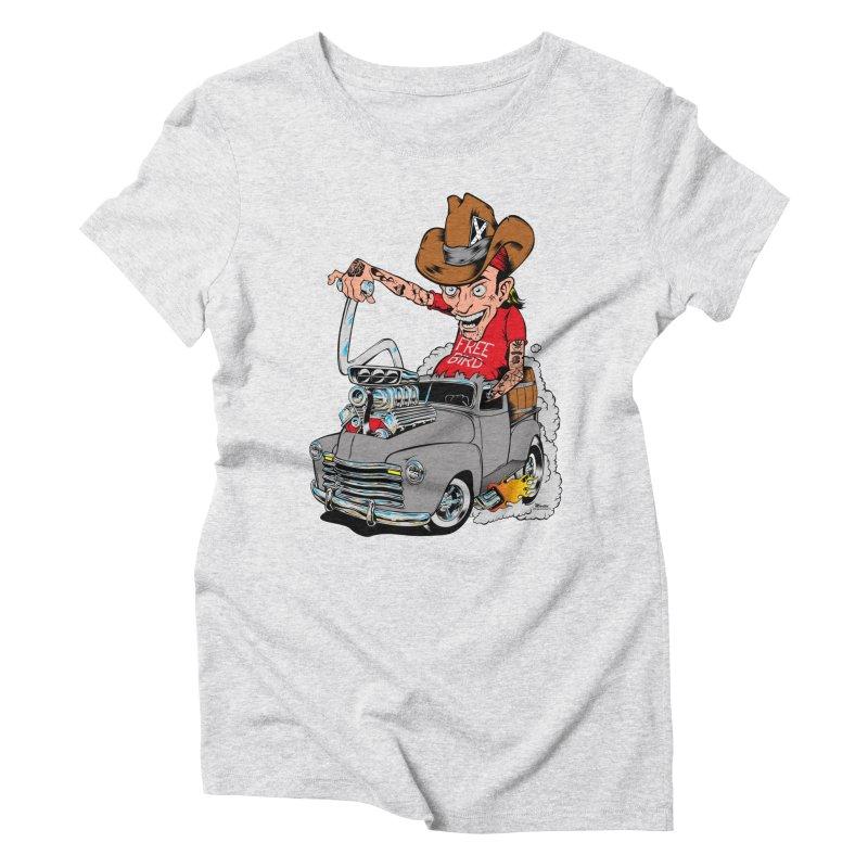 Blown 52 Chevy Women's Triblend T-Shirt by EngineHouse13's Artist Shop