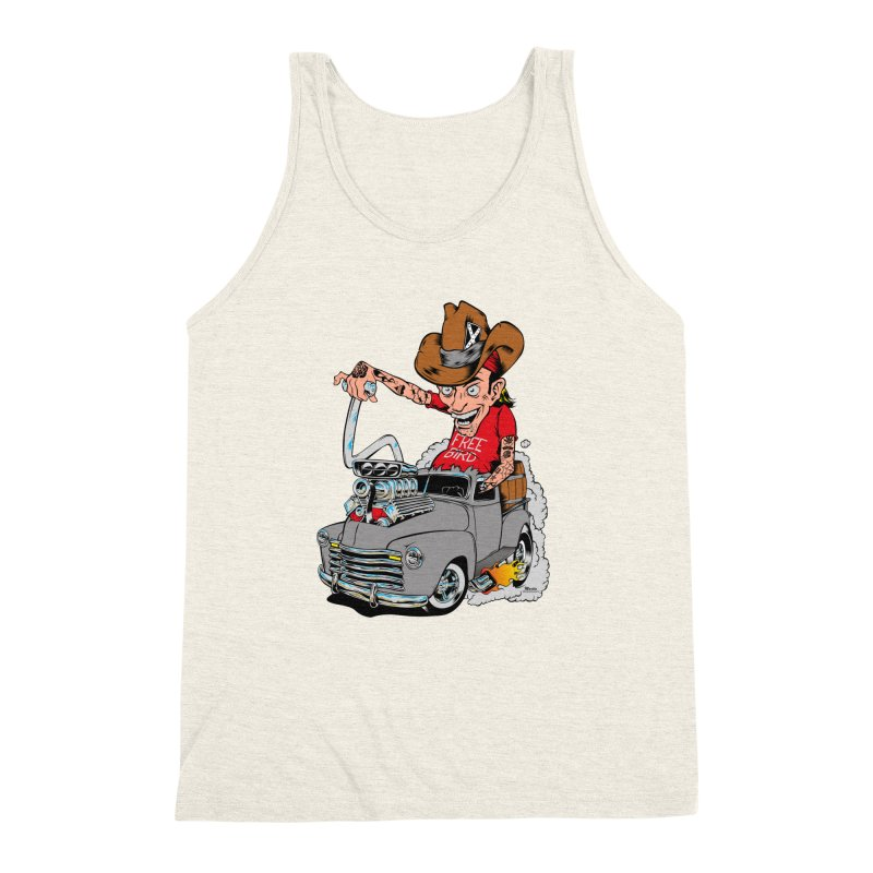 Blown 52 Chevy Men's Triblend Tank by EngineHouse13's Artist Shop