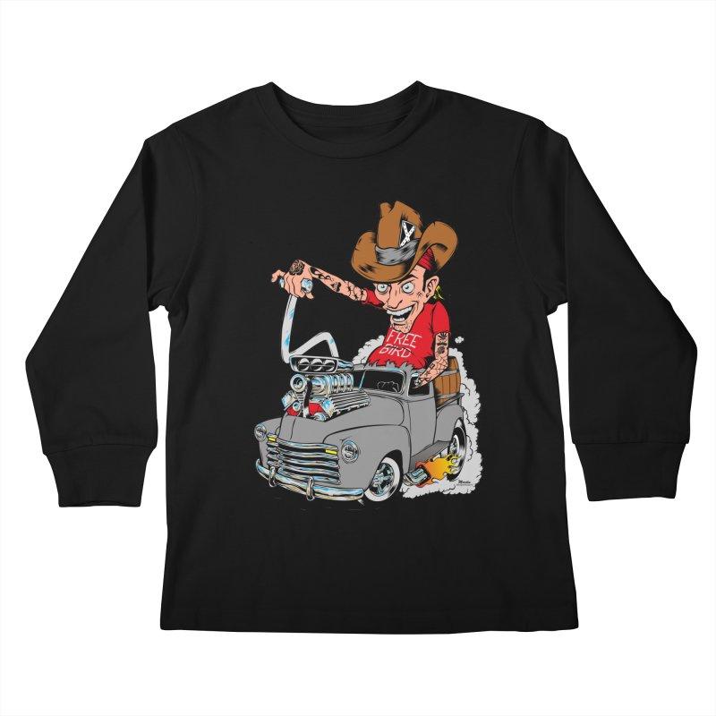 Blown 52 Chevy Kids Longsleeve T-Shirt by EngineHouse13's Artist Shop