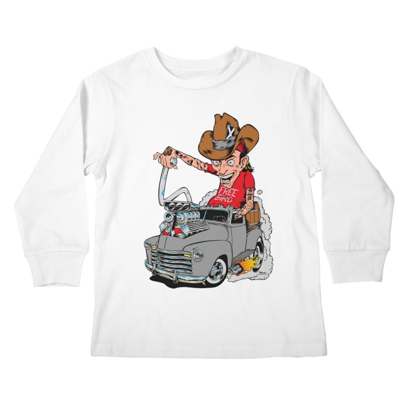 Blown 52 Chevy Kids Longsleeve T-Shirt by EngineHouse13's Artist Shop