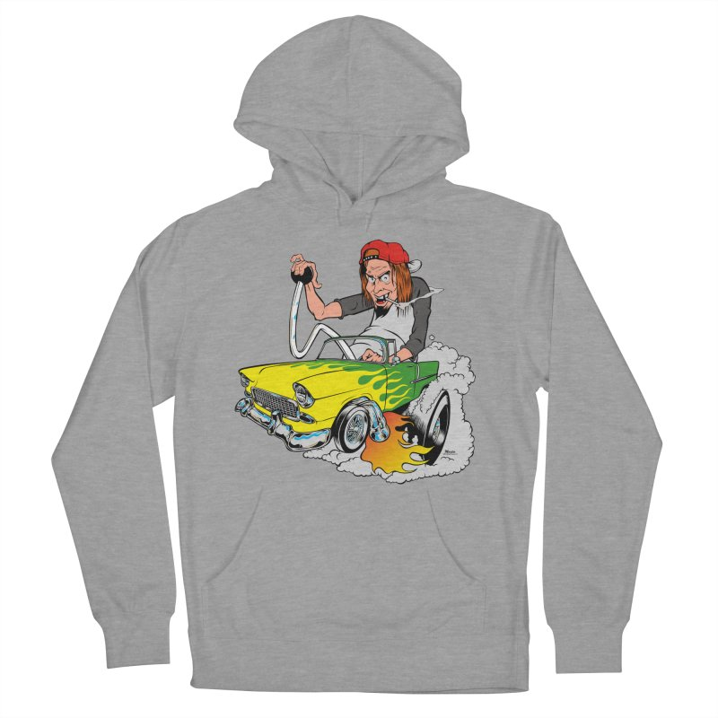 Topless 56 Chevy Women's Pullover Hoody by EngineHouse13's Artist Shop