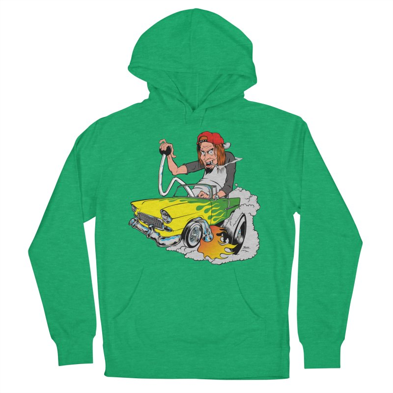 Topless 56 Chevy Men's Pullover Hoody by EngineHouse13's Artist Shop