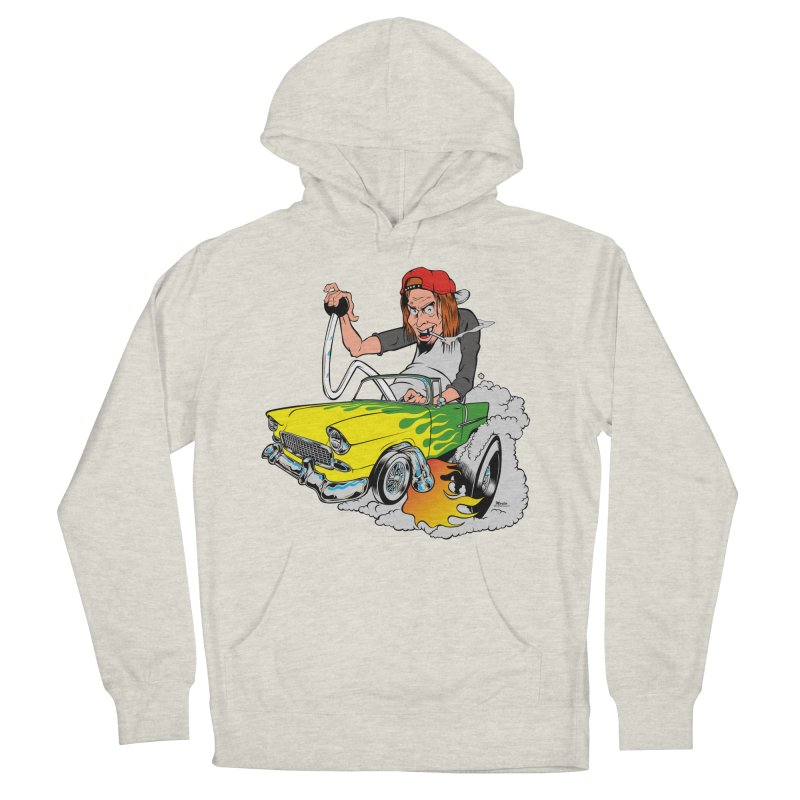 Topless 56 Chevy Men's French Terry Pullover Hoody by EngineHouse13's Artist Shop