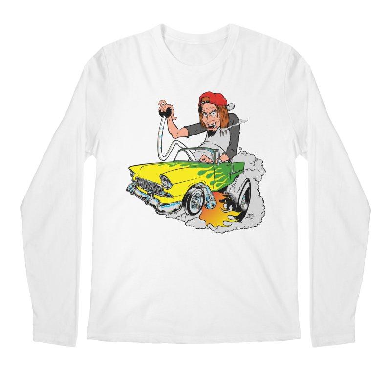Topless 56 Chevy Men's Longsleeve T-Shirt by EngineHouse13's Artist Shop