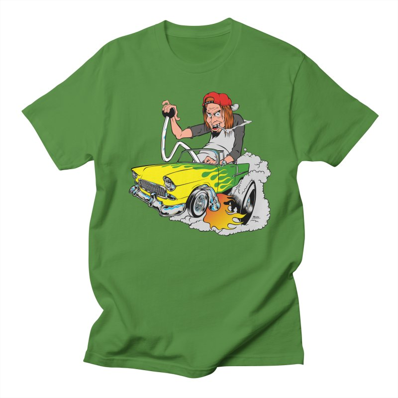 Topless 56 Chevy Men's T-Shirt by EngineHouse13's Artist Shop