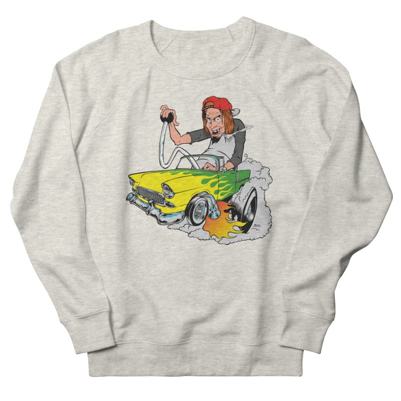 Topless 56 Chevy Women's French Terry Sweatshirt by EngineHouse13's Artist Shop