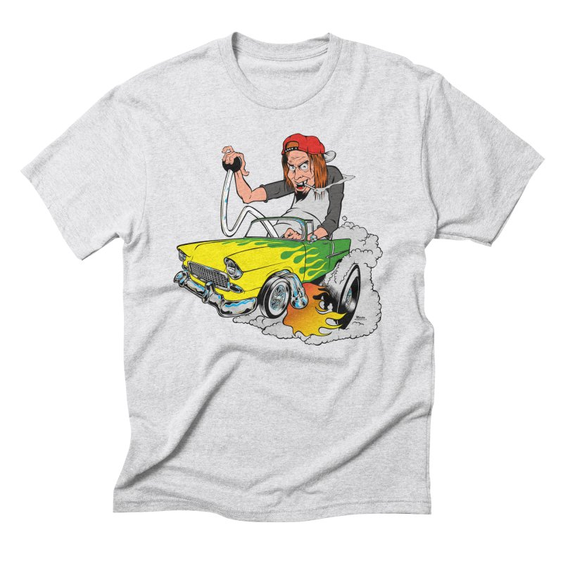 Topless 56 Chevy Men's Triblend T-Shirt by EngineHouse13's Artist Shop