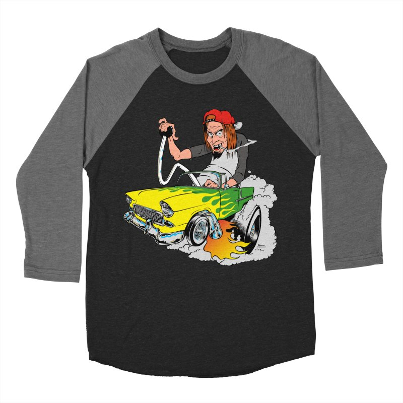 Topless 56 Chevy Women's Baseball Triblend T-Shirt by EngineHouse13's Artist Shop