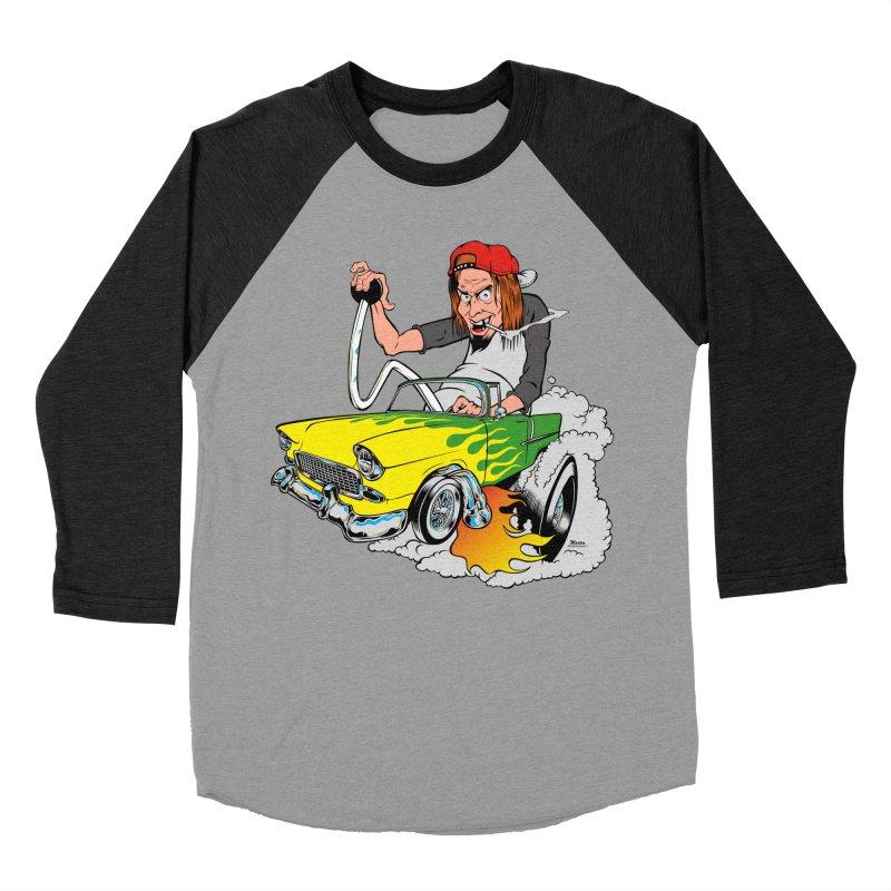 Topless 56 Chevy Women's Baseball Triblend Longsleeve T-Shirt by EngineHouse13's Artist Shop