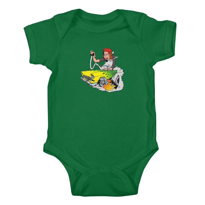 Topless 56 Chevy Kids Baby Bodysuit by EngineHouse13's Artist Shop