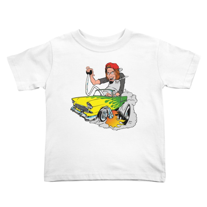 Topless 56 Chevy Kids Toddler T-Shirt by EngineHouse13's Artist Shop
