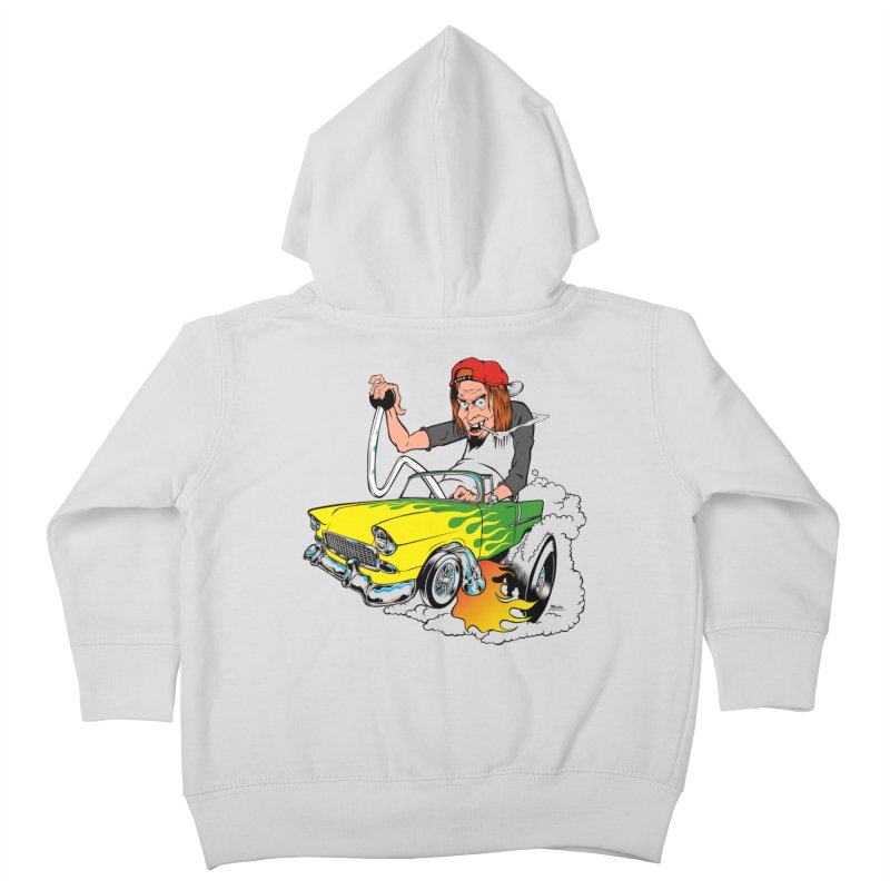 Topless 56 Chevy Kids Toddler Zip-Up Hoody by EngineHouse13's Artist Shop