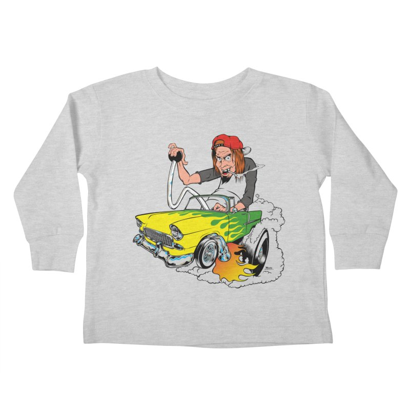 Topless 56 Chevy Kids Toddler Longsleeve T-Shirt by EngineHouse13's Artist Shop