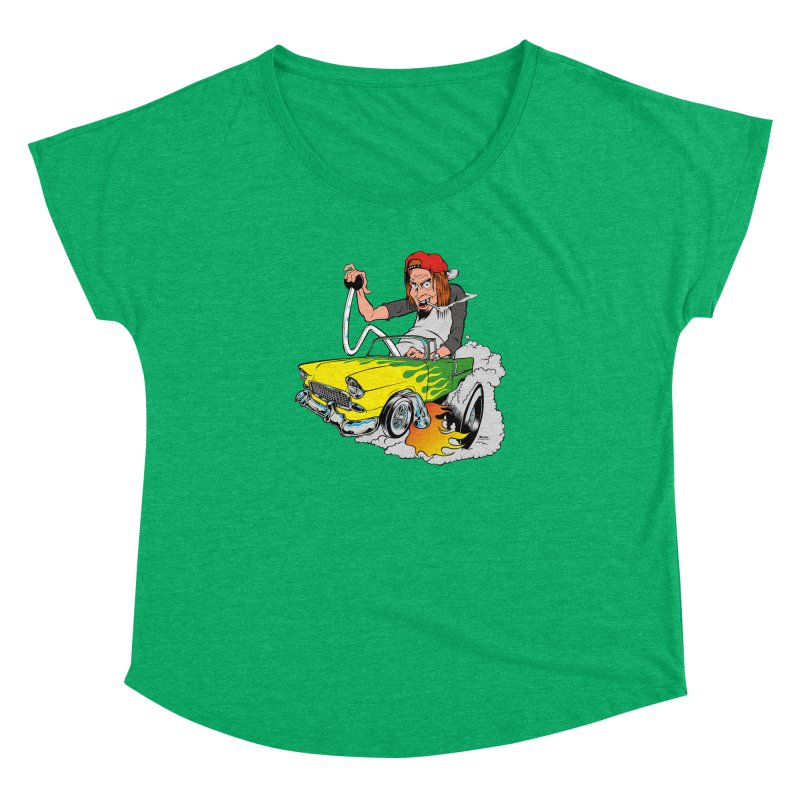 Topless 56 Chevy Women's Dolman by EngineHouse13's Artist Shop