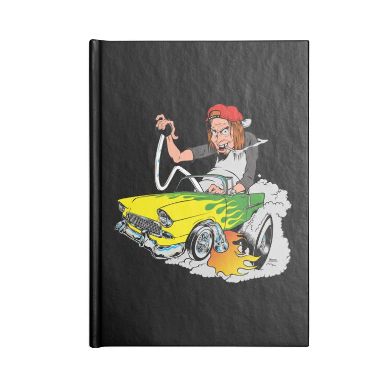 Topless 56 Chevy Accessories Blank Journal Notebook by EngineHouse13's Artist Shop