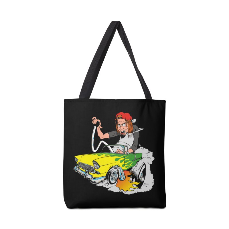 Topless 56 Chevy Accessories Tote Bag Bag by EngineHouse13's Artist Shop