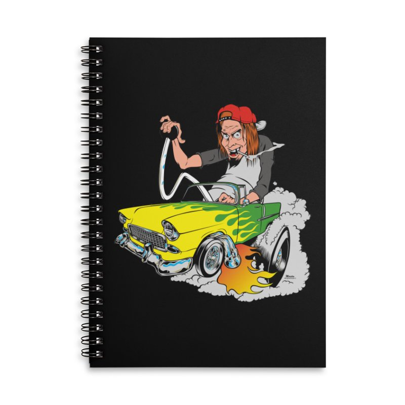 Topless 56 Chevy Accessories Notebook by EngineHouse13's Artist Shop