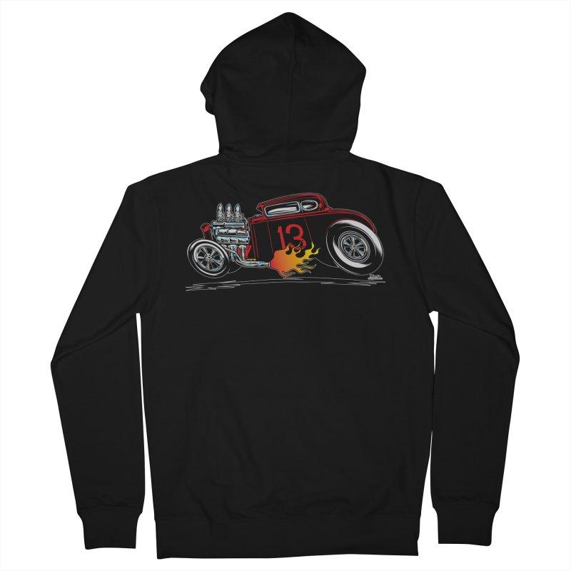 5 Window Speedie Men's Zip-Up Hoody by EngineHouse13's Artist Shop