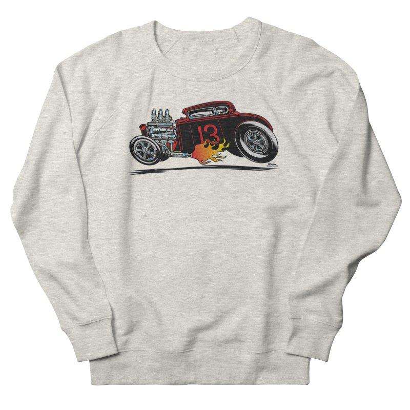 5 Window Speedie Women's French Terry Sweatshirt by EngineHouse13's Artist Shop