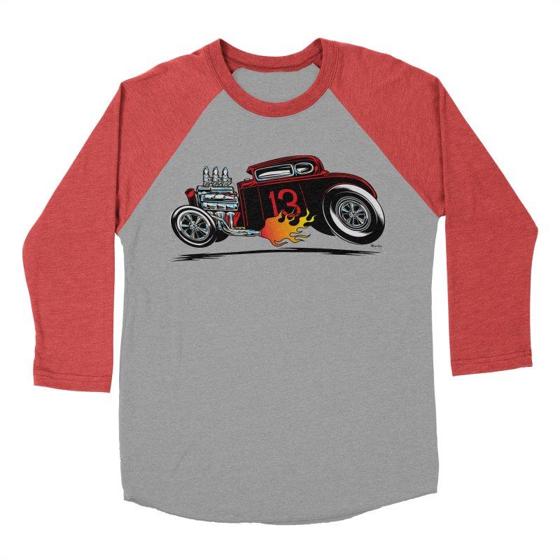 5 Window Speedie Men's Baseball Triblend T-Shirt by EngineHouse13's Artist Shop