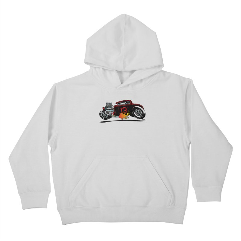 5 Window Speedie Kids Pullover Hoody by EngineHouse13's Artist Shop