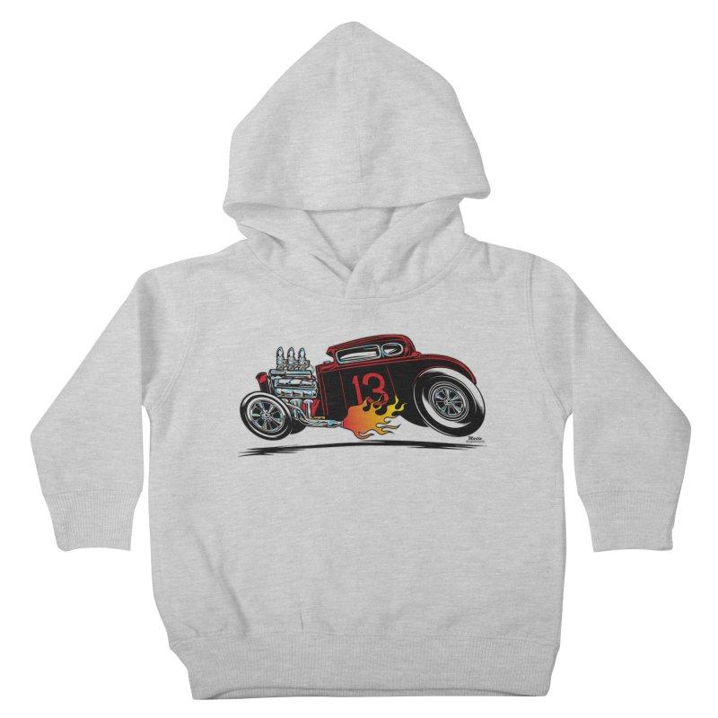 5 Window Speedie Kids Toddler Pullover Hoody by EngineHouse13's Artist Shop