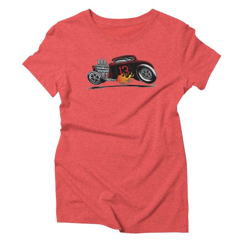 5 Window Speedie Women's Triblend T-Shirt by EngineHouse13's Artist Shop
