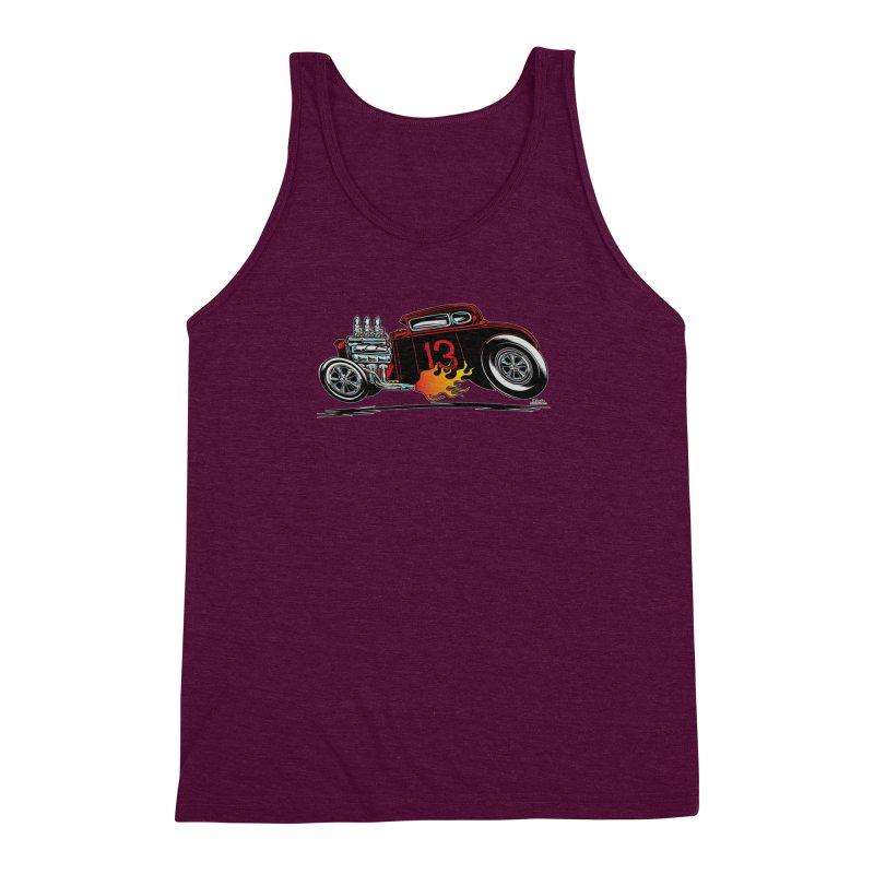 5 Window Speedie Men's Triblend Tank by EngineHouse13's Artist Shop