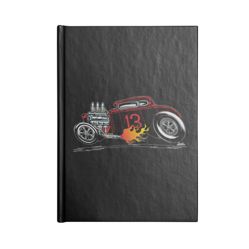5 Window Speedie Accessories Notebook by EngineHouse13's Artist Shop