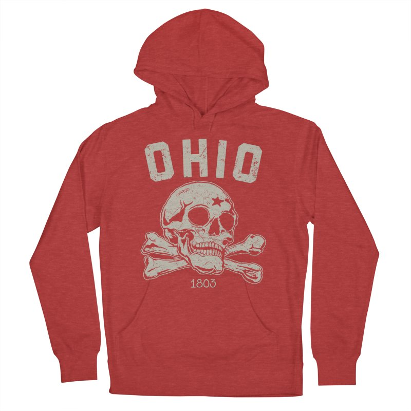 OHIO est.1803 Women's French Terry Pullover Hoody by EngineHouse13's Artist Shop